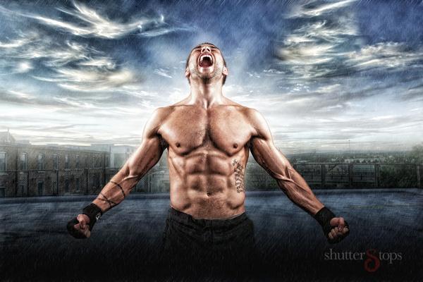 MMA Sportrait Session