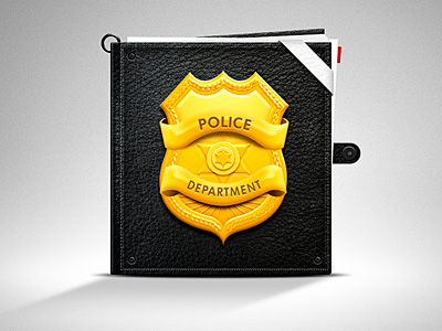 Police badge by Anthony Goodwin