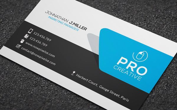 30 Best Business Card Design
