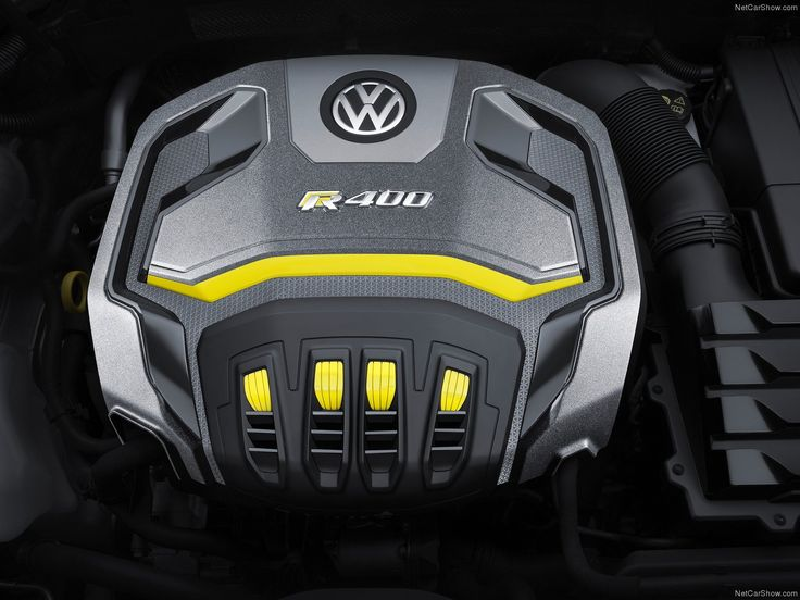 Volkswagen Golf R 400 Concept Engine Cover | AWESOME DESIGN INSPIRATION | Pinterest