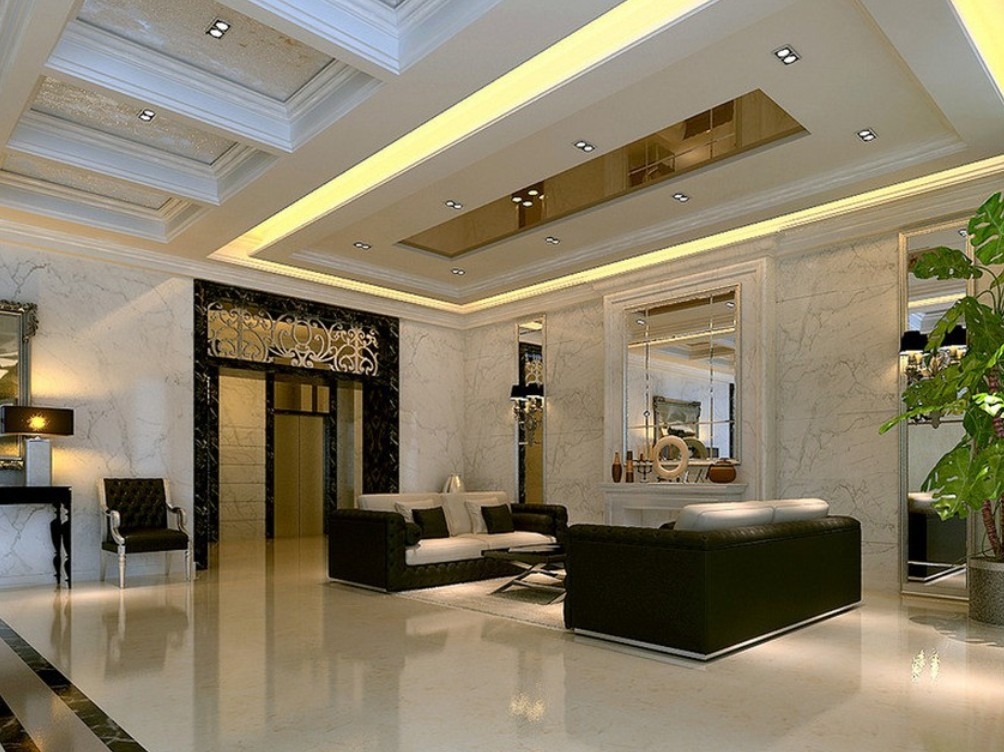 Interior designs with the stunning ceiling decorations for Interior house design ceiling