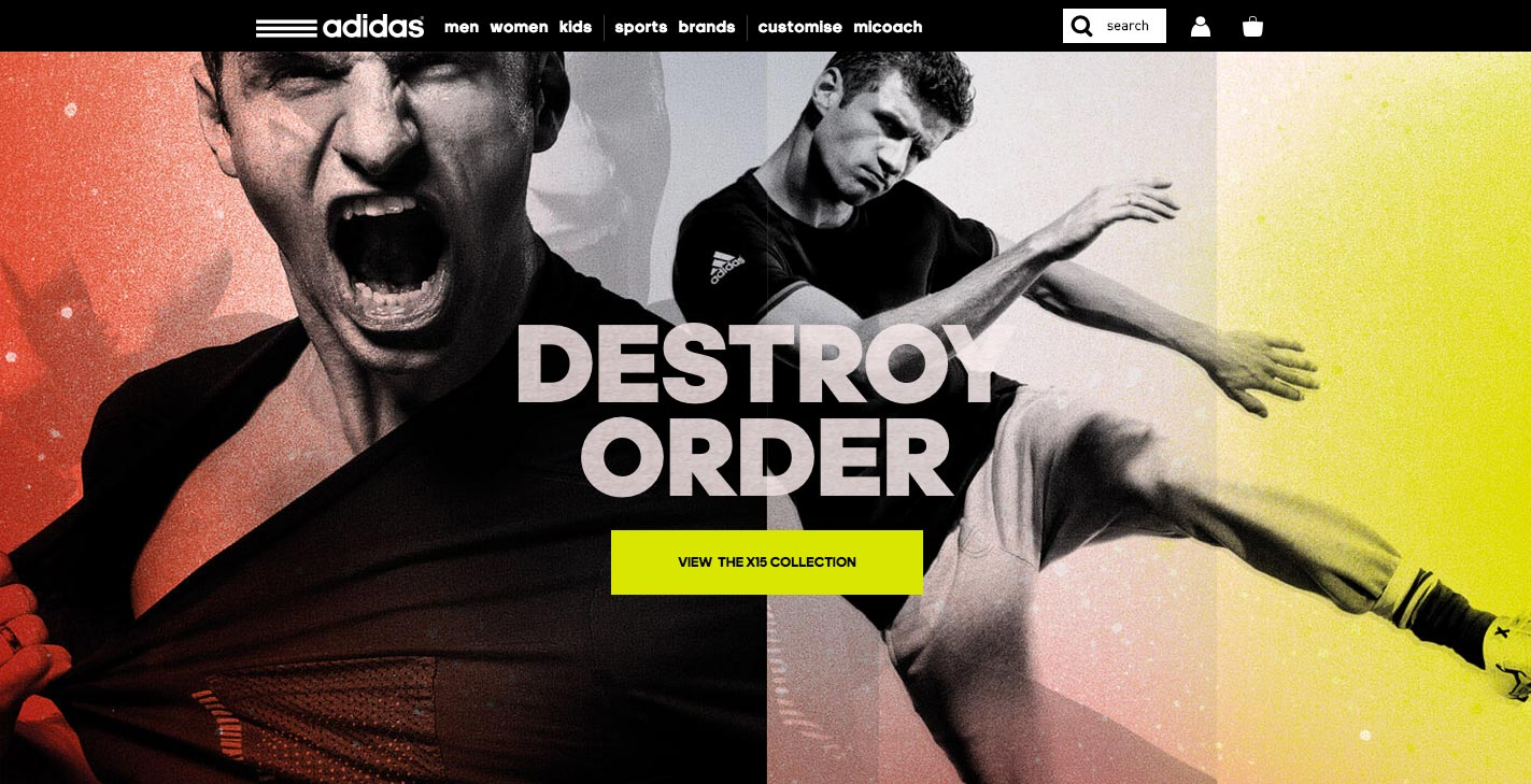 adidas: Be the Difference - Site of the Day June 12 2015