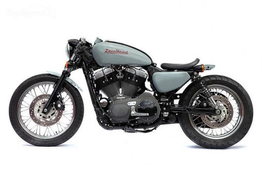 Designspiration — Harley-Davidson Nightster café racer by Deus picture: 334225 - Top Speed