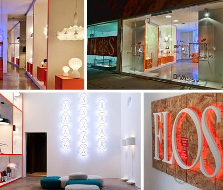 Highlight: New FLOS Store Openings by | Contemporary Designer Lighting by FLOS