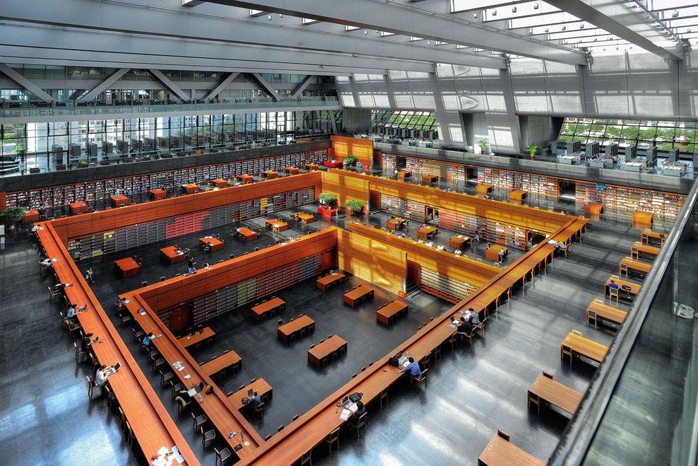 KSP Jürgen Engel Architekten — National Library of China — Image 6 of 9 - Divisare by Europaconcorsi