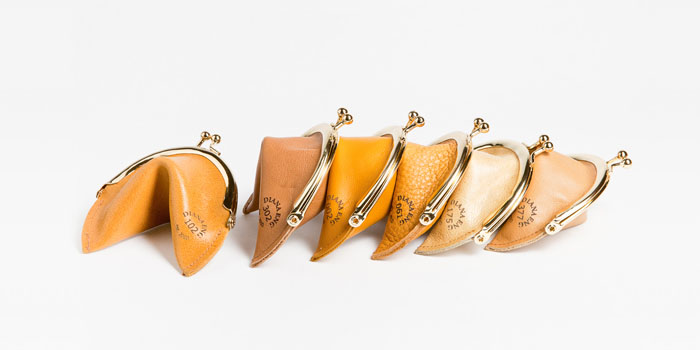 Fortune Cookie Coin Purse - TheDieline.com - Package Design Blog