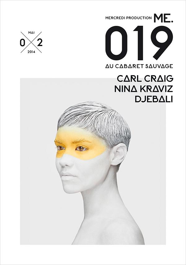 ME.019 by Carl Craig and Nina Kraviz Djebali on Inspirationde