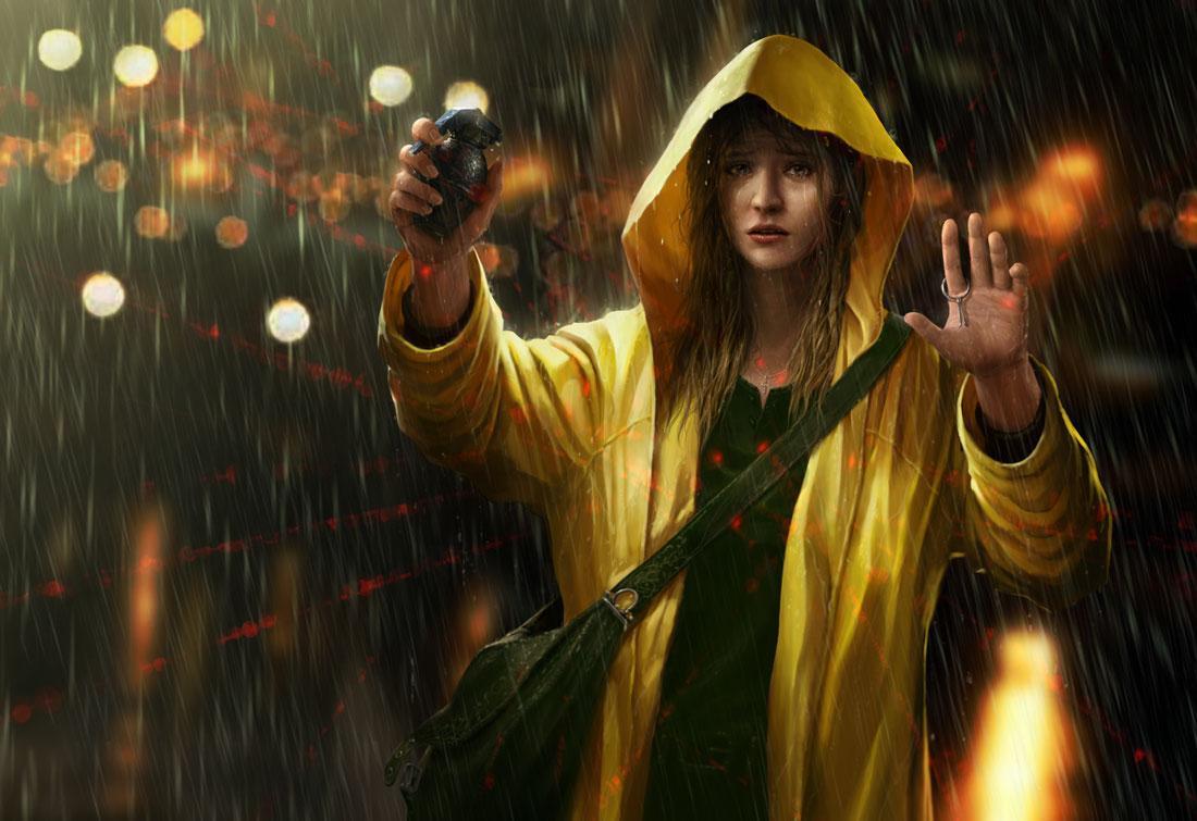 Rain by ~OmeN2501
