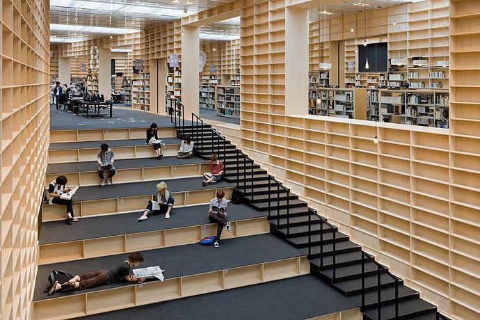Sou Fujimoto Architects — Musashino Art University Museum & Library — Image 3 of 11 - Divisare by Europaconcorsi