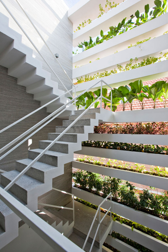 Vo Trong Nghia Architects — Stacking Green — Image 6 of 17 - Divisare by Europaconcorsi