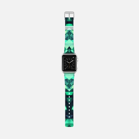 Abstract Surreal Chaos theory in Modern poison turquoise green Apple Watch Band (42mm) by Philipp Rietz | Casetify