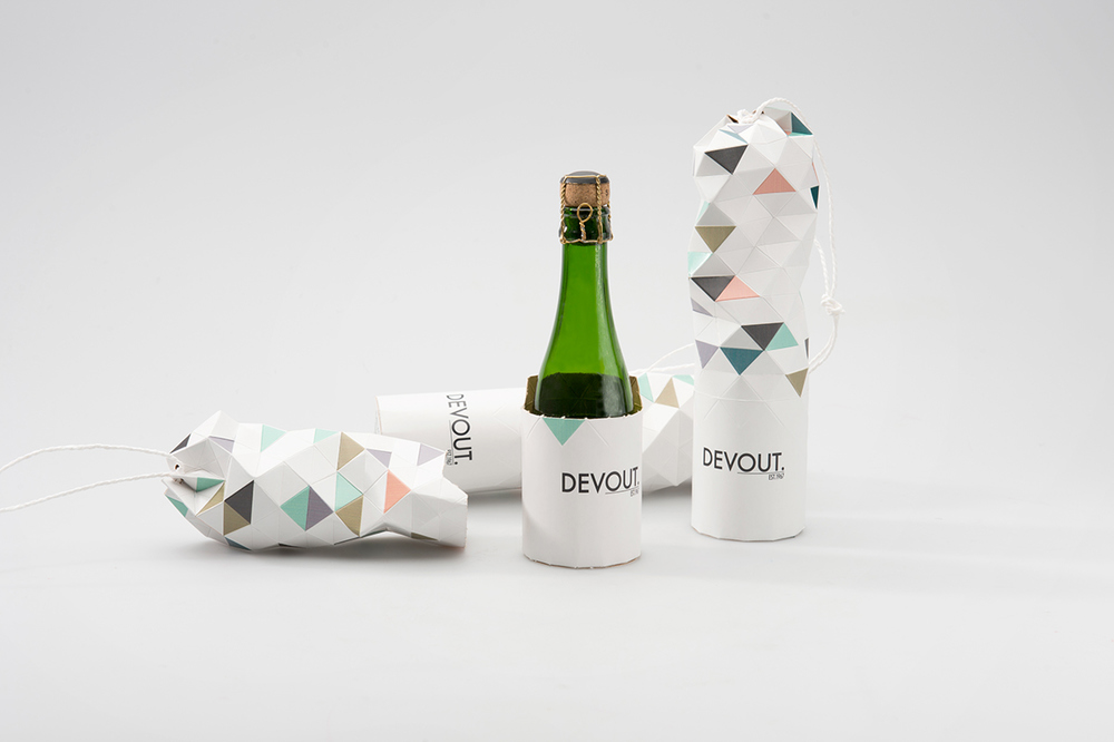 Concept: DEVOUT. Champagne — The Dieline - Branding & Packaging