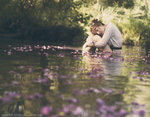 Flowers stream by ~Snowfall-lullaby