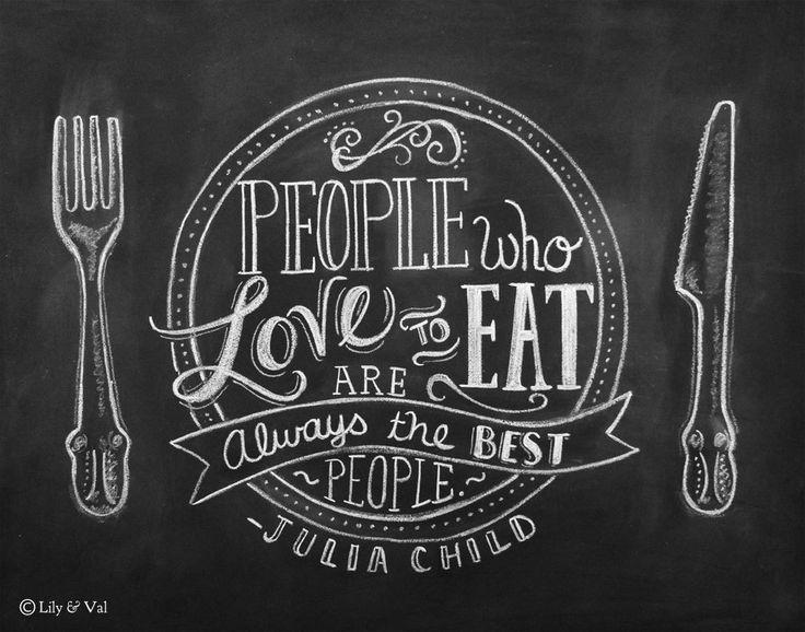 Chalkboard Art   Kitchen Chalkboard Art   Dining Room Art   Kitchen Print    Hand Lettering