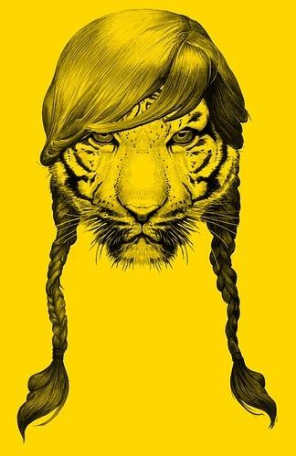 animal, animal head, animals, art, awesome, badass - inspiring picture