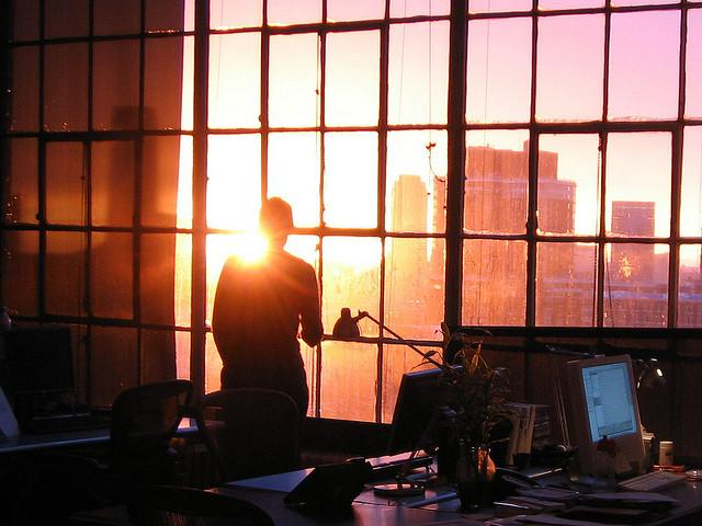 sunset at work. | Flickr - Fotosharing!