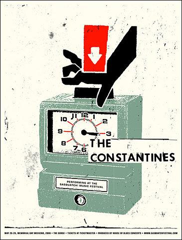 GigPosters.com - Constantines, The