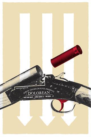 GigPosters.com - Dolorean - Todd Grant