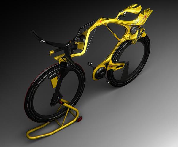 "Hybrid Bike Concept ""INgSOC"""