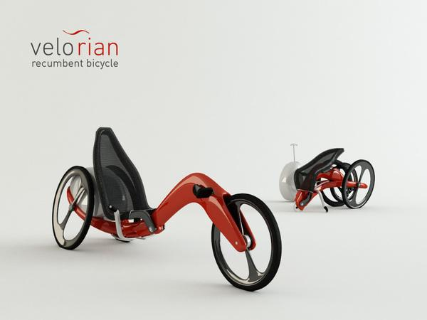 Elegant and Comfortable Velorian Trike