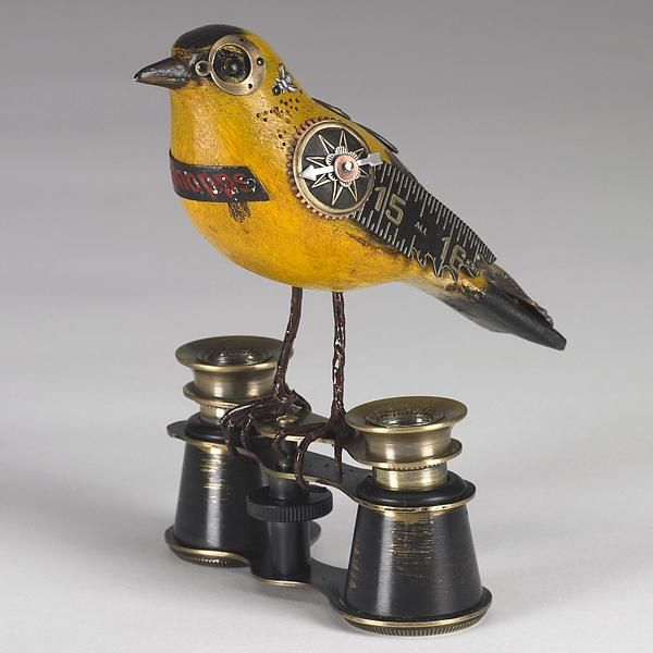 """Songbirds"" – Steampunk Sculptures by Mullanium"