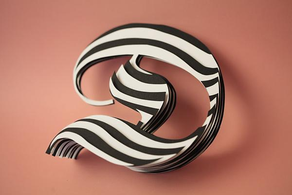 Beatiful Paper Letters by Jerome Corgier