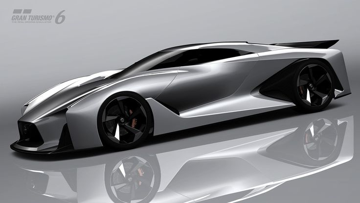 NISSAN CONCEPT 2020 Vision Gran Turismo, maybe an inspiration for the next GTR. | Concept Cars | Pinterest