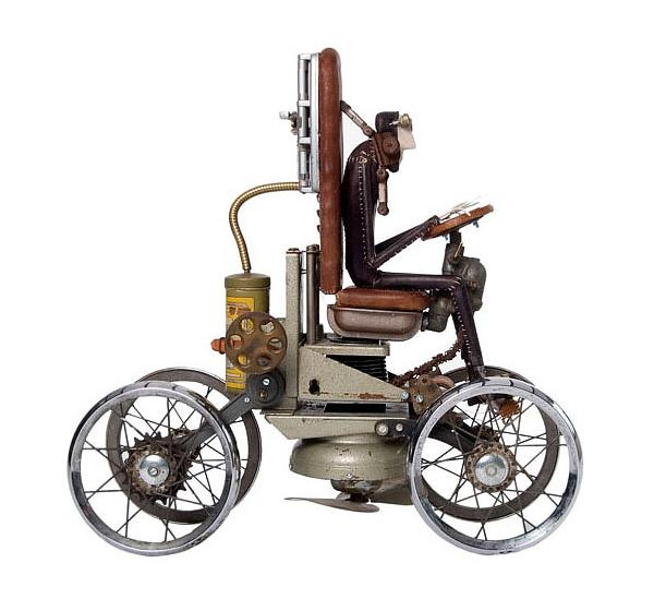 Remarkable Collection of Steampunk Sculptures