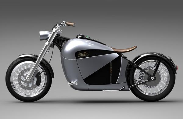 "Electric Motorcycle ""Orphiro"""