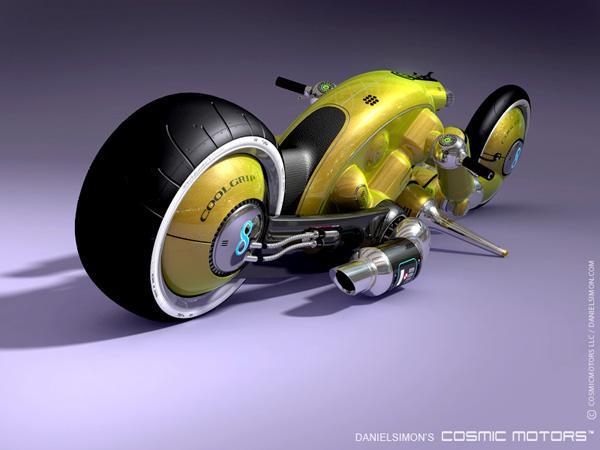 "Futuristic Bike ""Detonator"" by Daniel Simon"