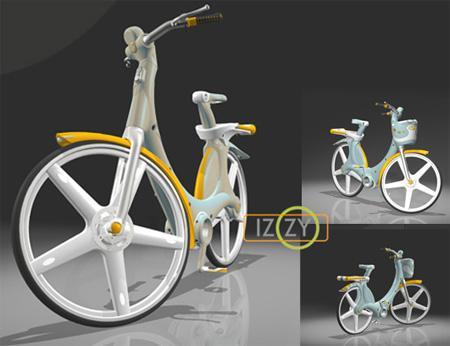 Izzy Plastic Urban Bike Concept