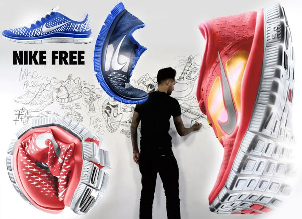 Design Behind the NEW Nike Free | DesigNerdery | Pinterest