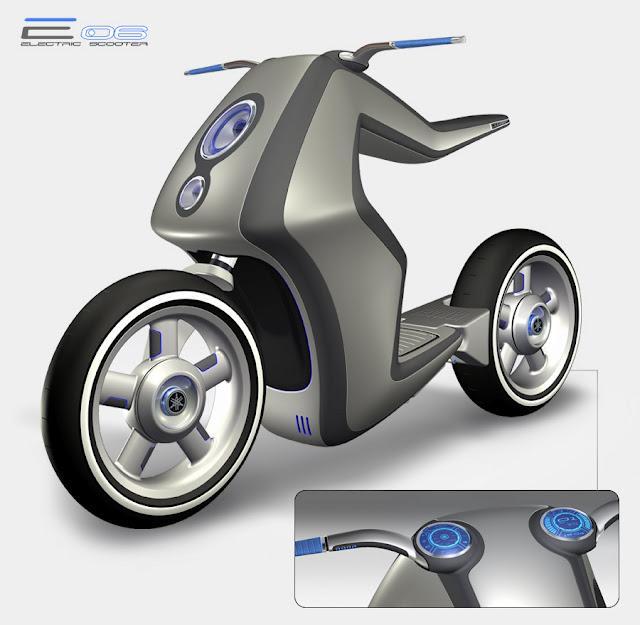 EO6 Bike Design By Dechaves Garage | DZine Trip