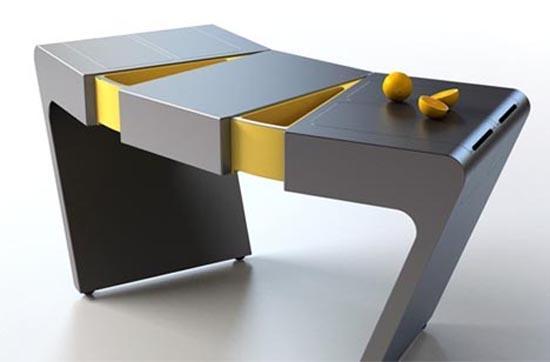 Minimalist Kitchen Concept by Olga Kalugina | DZine Trip