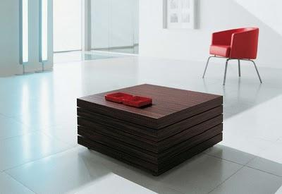 Cofee Table with Different Facets: Design by Luciano Bertoncini | DZine Trip