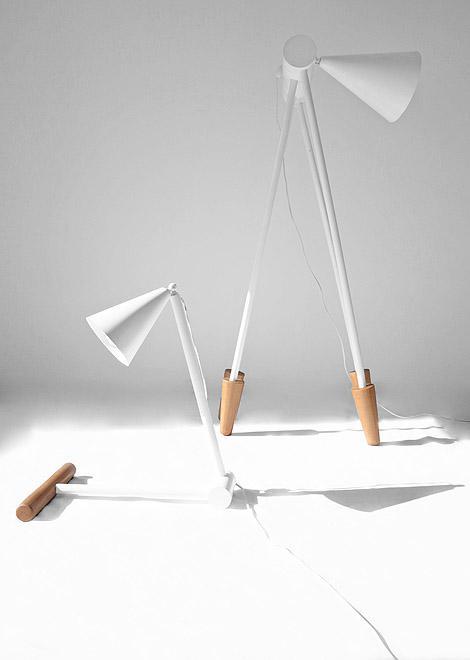 Foldable Lamps by Ia Kutateladze | DZine Trip