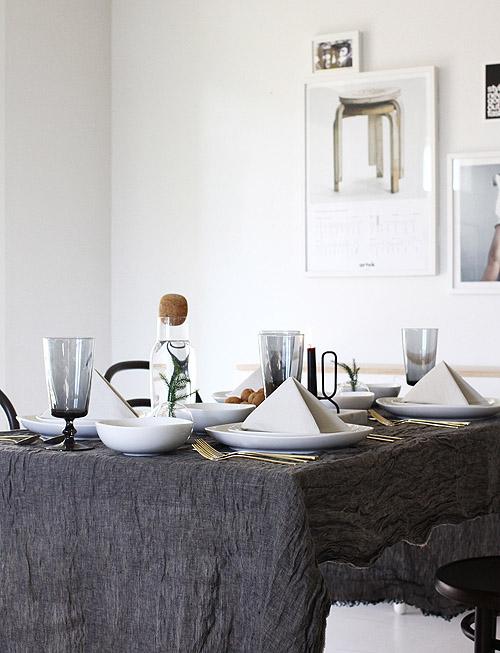 Thanksgiving Tables: Matt Armendariz & Jennifer Hagler | Design*Sponge