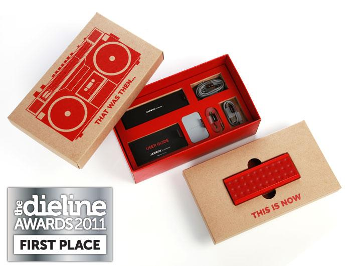 The Dieline Awards 2011: First Place - Jawbone JAMBOX Packaging - TheDieline.com - Package Design Blog