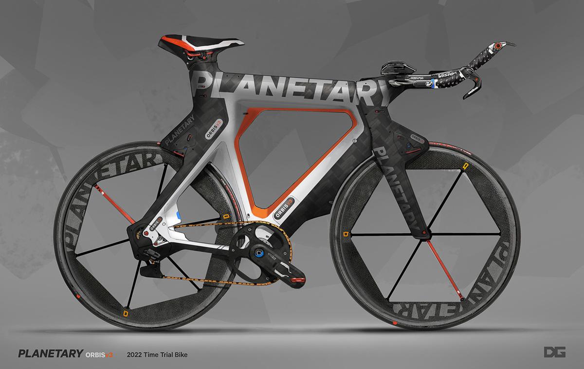 Time Trial Bike - Danny Gardner