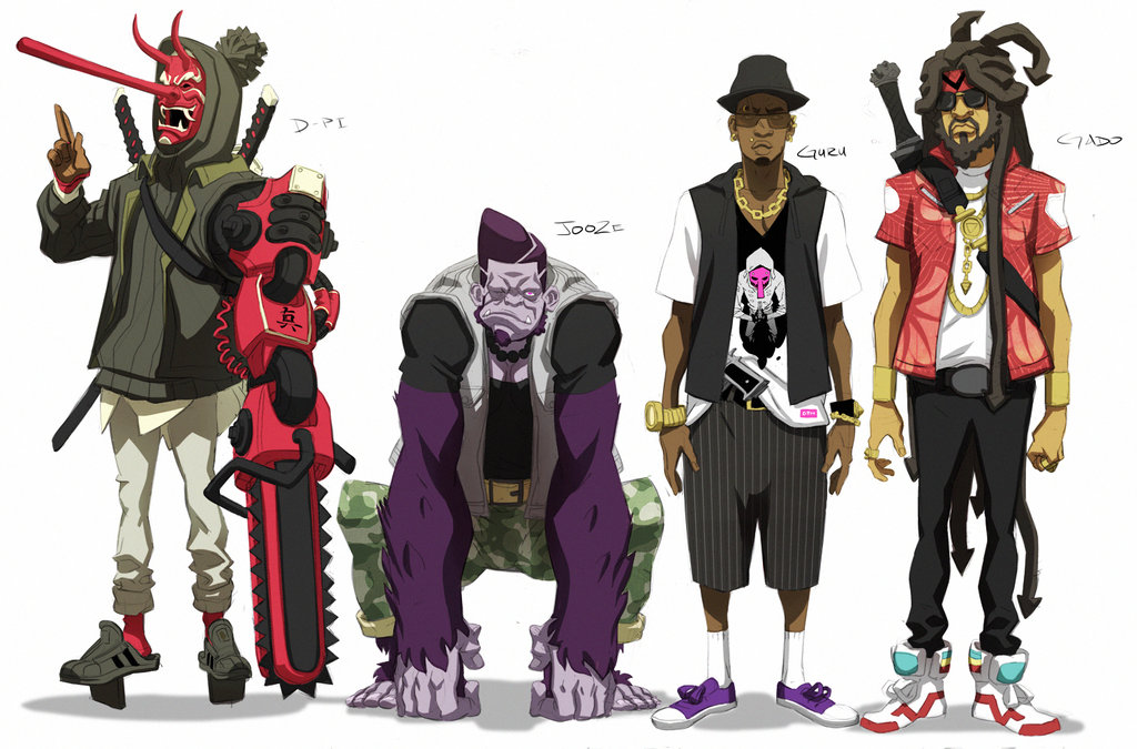 Kinetic Kartel- Male Characters by ChaseConley on DeviantArt