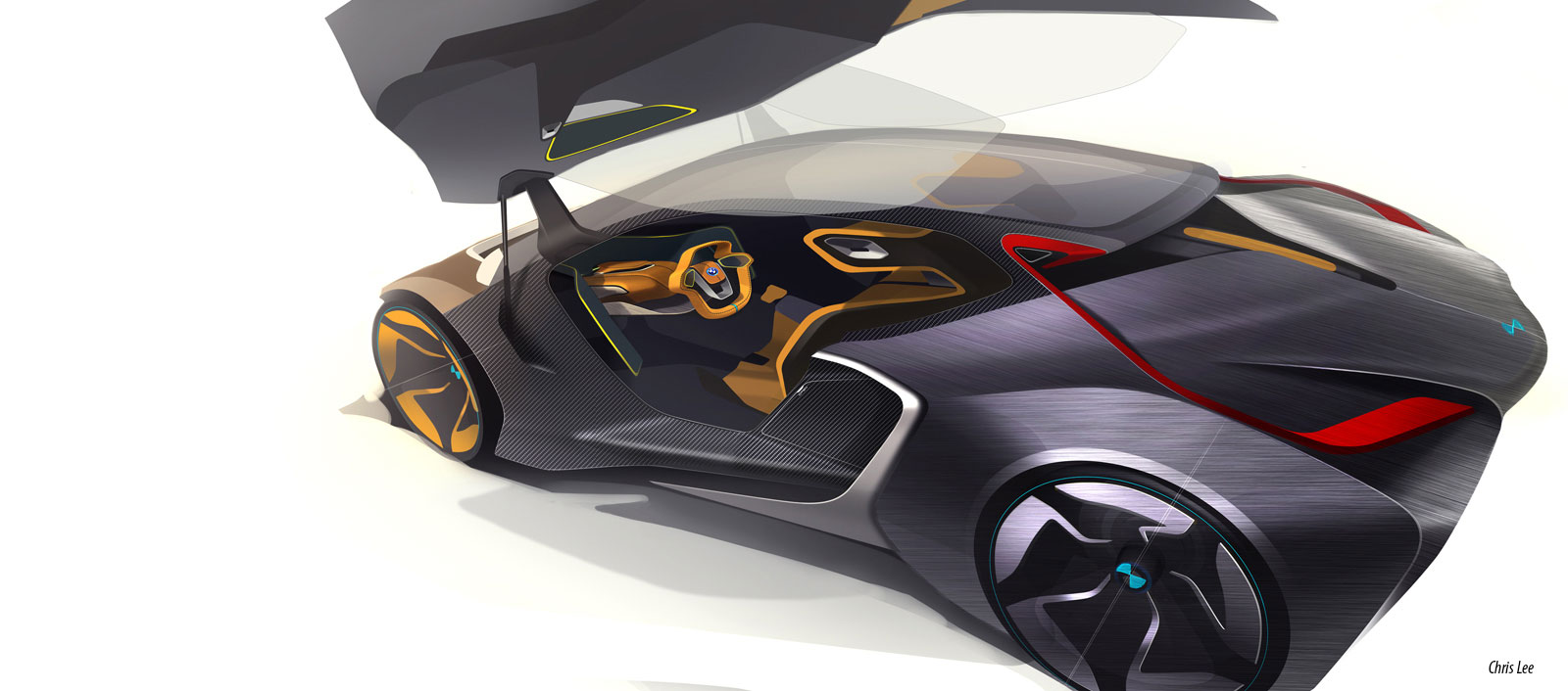 Bmw I2 Concept Car Body Design 529893 On Wookmark