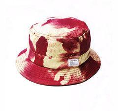 Akomplice A.O.C. Bucket Hat Peach/ Maroon