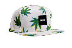 Huf 3D Plantlife Snapback White