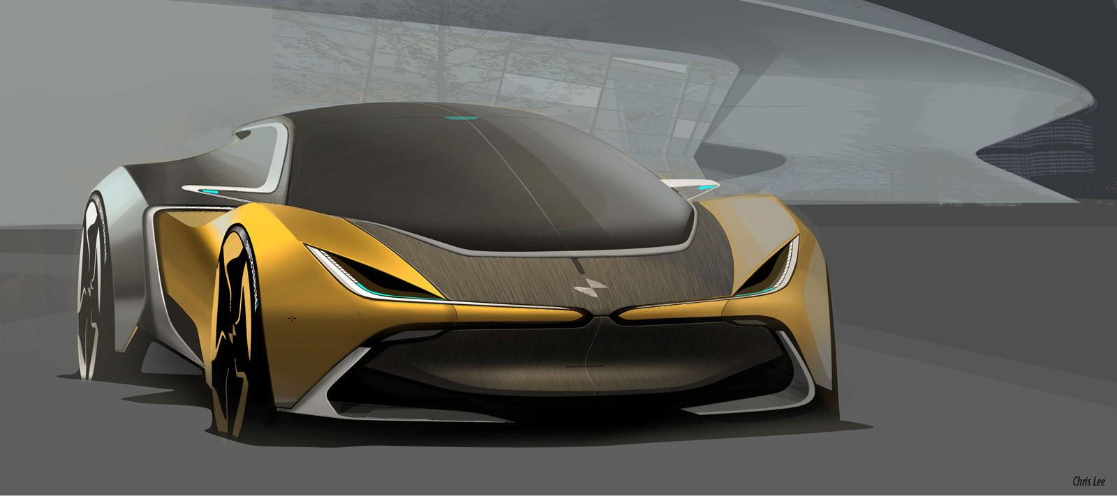 Bmw I2 Concept Design Sketch Car Body Design 530071