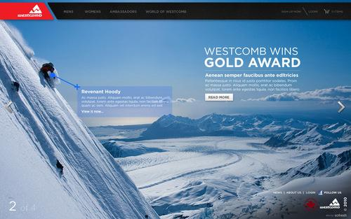 Westcomb on Web Design Served