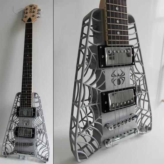 Olaf Diegel 3D-Printed Guitars | Cool Material