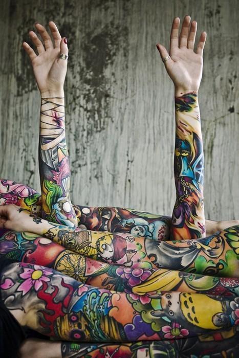 Ink Tattoo Sleeves Tumblr 53097 On Wookmark