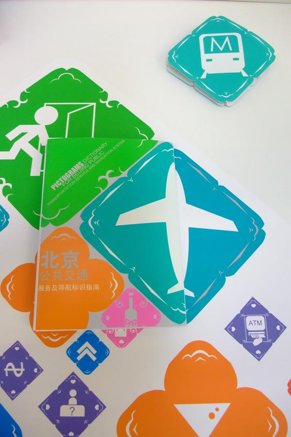 Pictograms for Beijing Transportation System