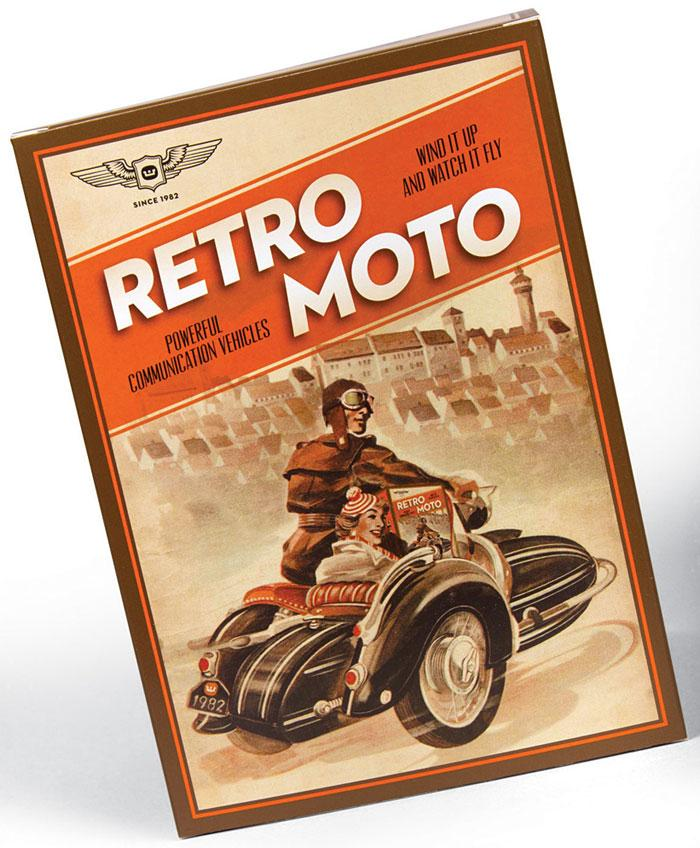 Retro Moto - The Dieline: The World's #1 Package Design Website -