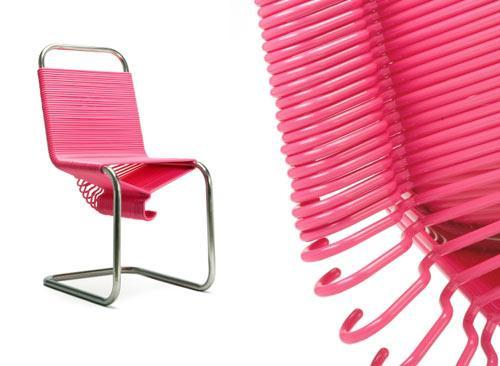 Coat Check Chair by Joey Zeledón | Design Milk